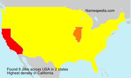 Surname Jilke in USA