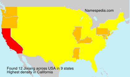 Surname Jixiang in USA