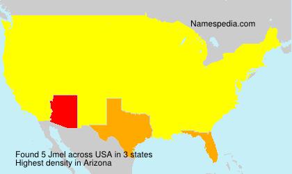 Surname Jmel in USA