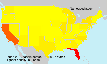 Surname Joachin in USA