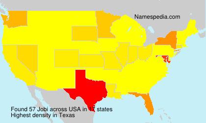 Surname Jobi in USA