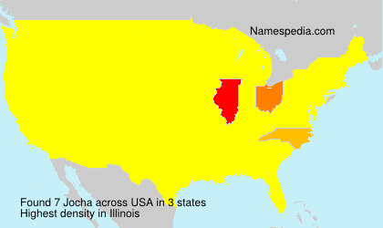 Surname Jocha in USA