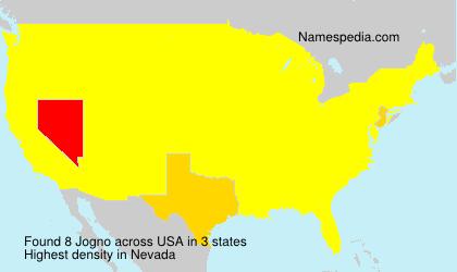 Surname Jogno in USA