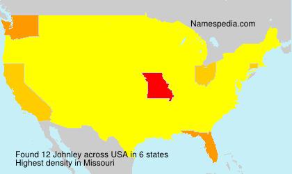 Familiennamen Johnley - USA