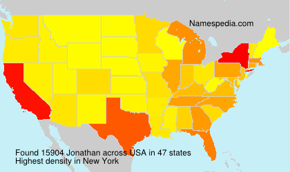 Surname Jonathan in USA