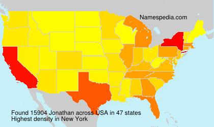 Surname Jonathan in USA