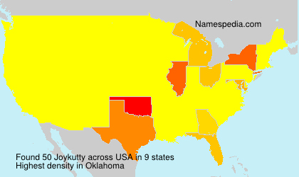 Surname Joykutty in USA