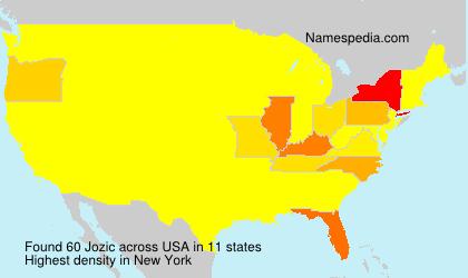 Surname Jozic in USA