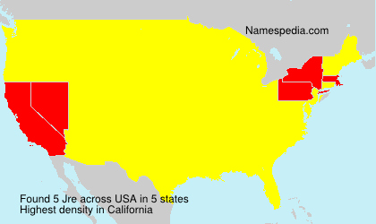 Surname Jre in USA