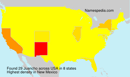 Surname Juancho in USA
