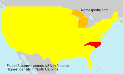 Surname Jucovic in USA