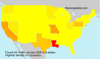 Surname Judlin in USA