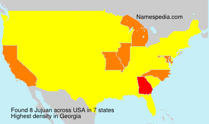 Surname Jujuan in USA