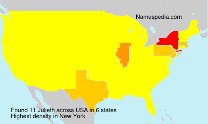 Surname Julieth in USA
