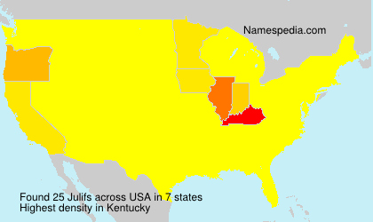 Surname Julifs in USA