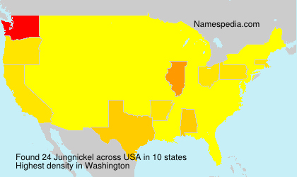 Surname Jungnickel in USA