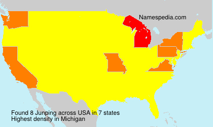 Surname Junping in USA