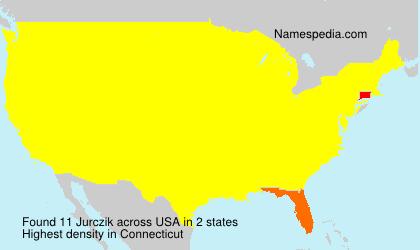 Surname Jurczik in USA