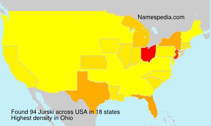 Surname Jurski in USA