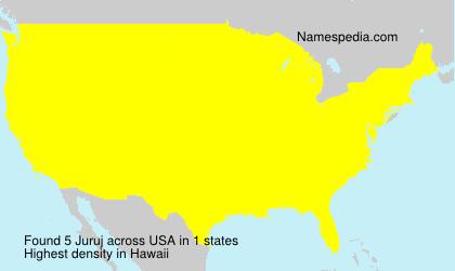 Surname Juruj in USA