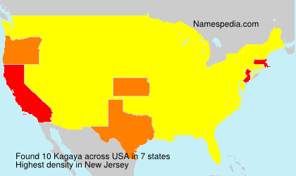 Familiennamen Kagaya - USA