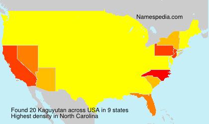 Surname Kaguyutan in USA