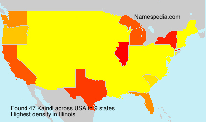 Surname Kaindl in USA
