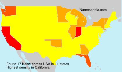 Surname Kaise in USA