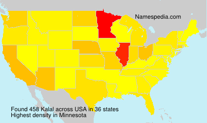 Surname Kalal in USA