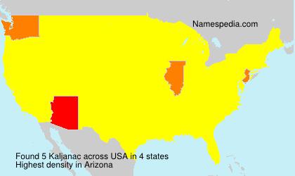 Kaljanac - USA