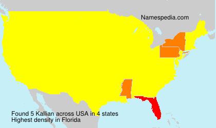 Kallian - USA