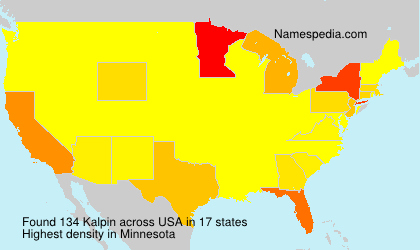 Surname Kalpin in USA