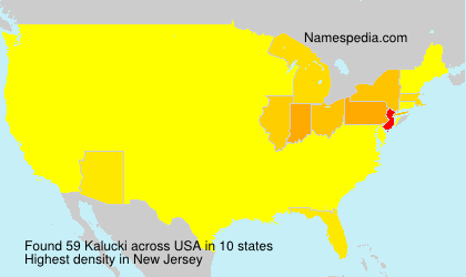 Surname Kalucki in USA