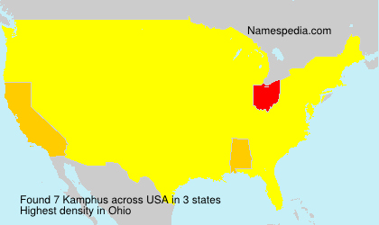 Surname Kamphus in USA
