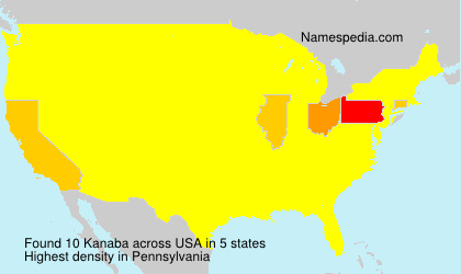 Surname Kanaba in USA