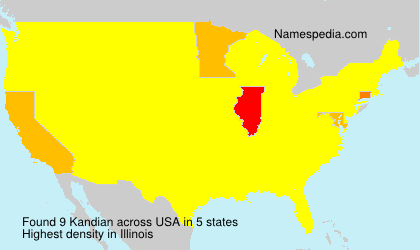 Surname Kandian in USA