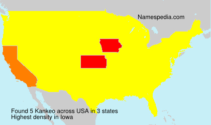 Familiennamen Kankeo - USA