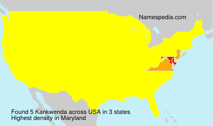Surname Kankwenda in USA