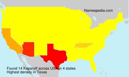 Kaparoff - USA