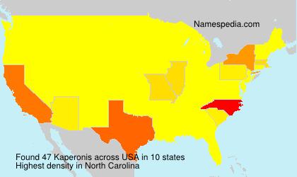 Kaperonis - USA