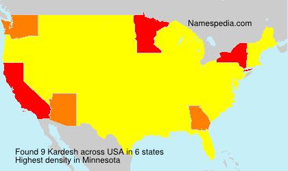 Kardesh - USA
