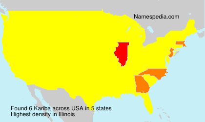Surname Kariba in USA