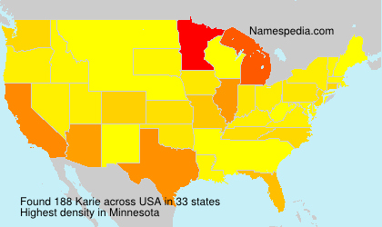 Karie - Names Encyclopedia