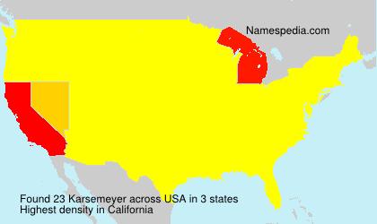 Karsemeyer - USA