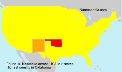 Surname Kaskaske in USA