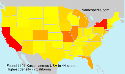 Surname Kassel in USA