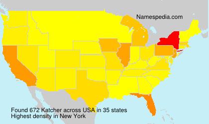 Surname Katcher in USA