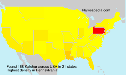 Surname Katchur in USA