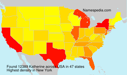 Surname Katherine in USA
