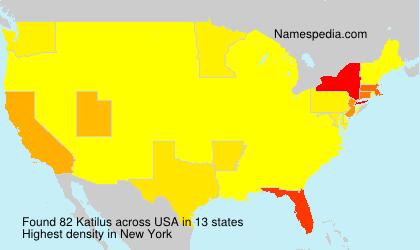 Surname Katilus in USA